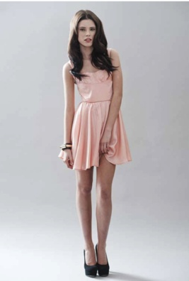 Coral modern and dresses on pinterest