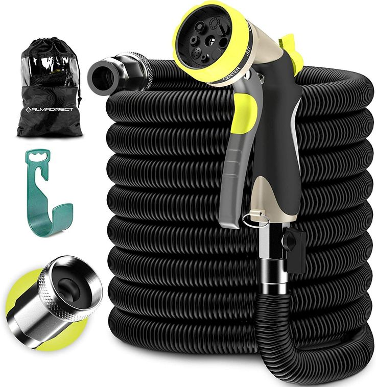 Expandable Garden Hose Water Hose with Solid Brass