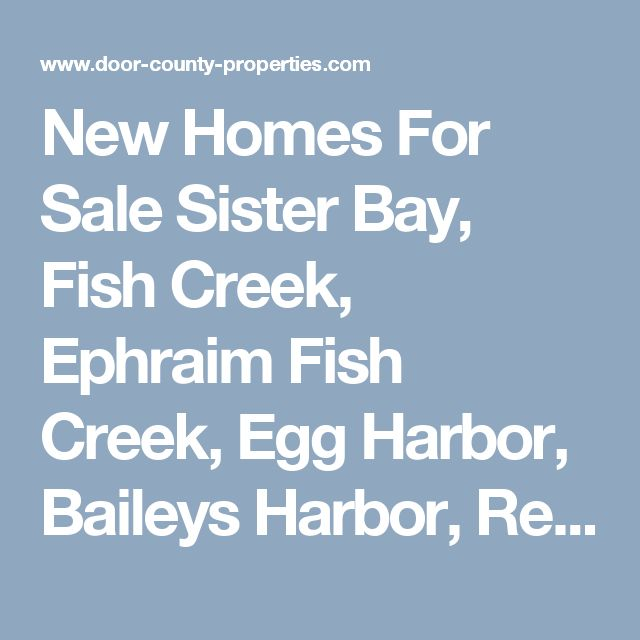 17 Best Ideas About Egg Harbor Wi On Pinterest Door