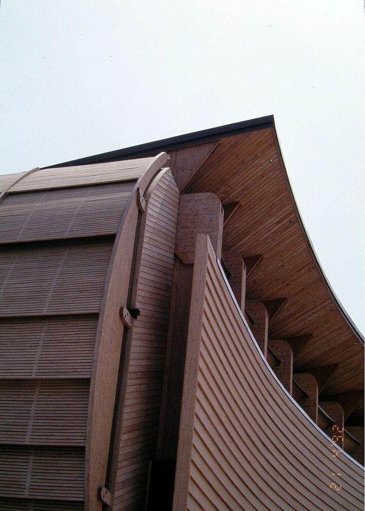 Pabellón de Chile diseñado por los arquitectos Germán del Sol y José Cruz, para la Expo-92 de Sevilla.