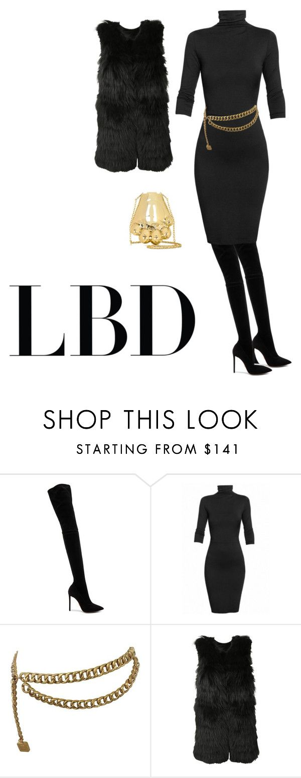 """""""All Black Chic"""" by kerisjean on Polyvore featuring Oscar Tiye, Undress, Chanel, Alice + Olivia and Kenzo"""