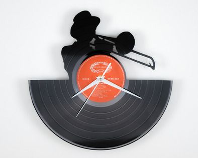 Horloge en disque vinyle jazz d coration murale photo 1 percu - Decoration disque vinyle ...
