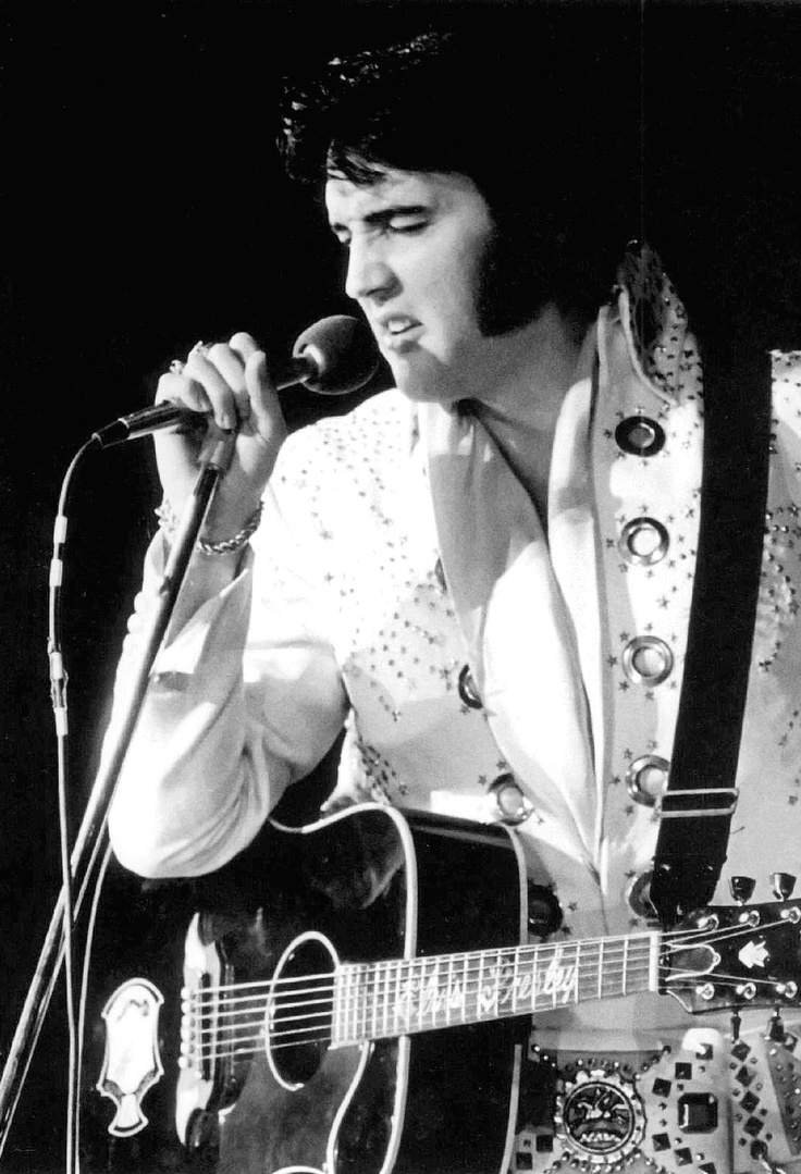 Elvis Aaron Presley... born on January 8, 1935       It's rare when an artist's talent can touch an entire generation of people. It's even rarer when that same influence affects several generations. Elvis made an imprint on the world of pop music unequaled by any other single performer.      -Dick ClarkElvis Aaron, Elvis Jumpsuits, Aaron Presley, Elvis Pics, Elvis 70S, Elvis 1972, Artists Talent, Elvis Presley, Elvis Pictures