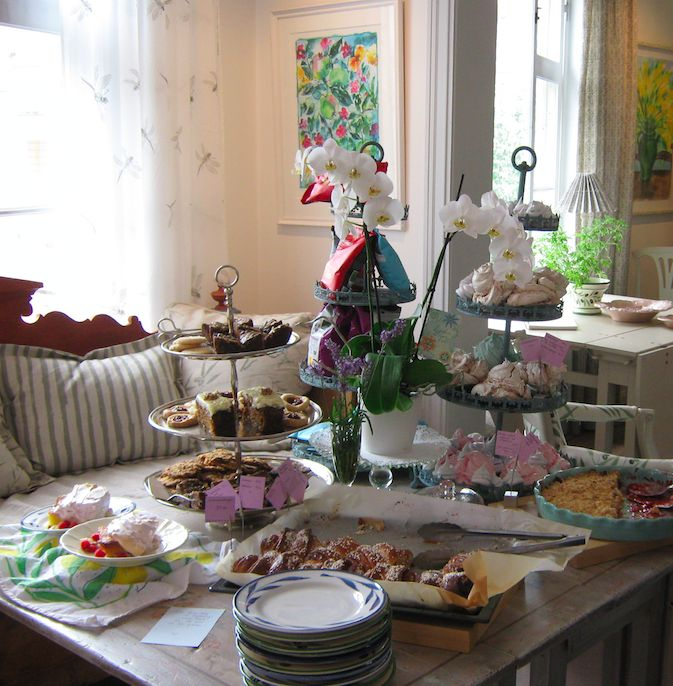 Little art gallery and café in Vaxholm