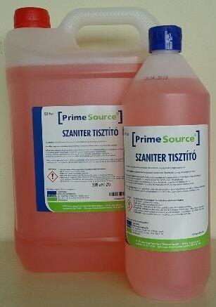 NOU!  Prime Source detergent pentru spatii sanitare 5L elimina depunerile de calcar, petele albe si se poate utiliza pe majoritatea suprafetelor.