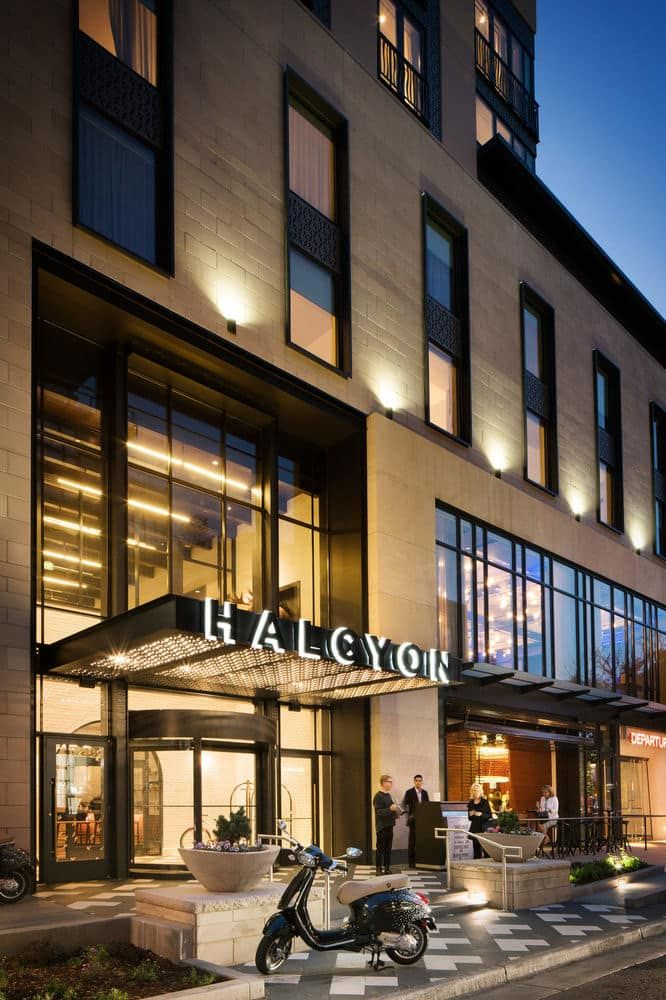 Halcyon A Hotel In Cherry Creek Denver Front