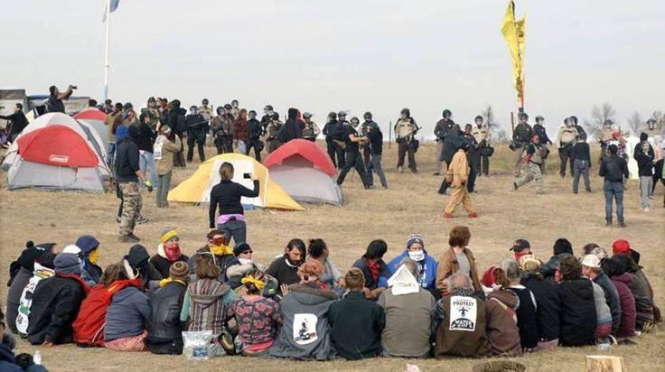 Solidaridad 'online' con los sioux por un oleoducto en EE UU