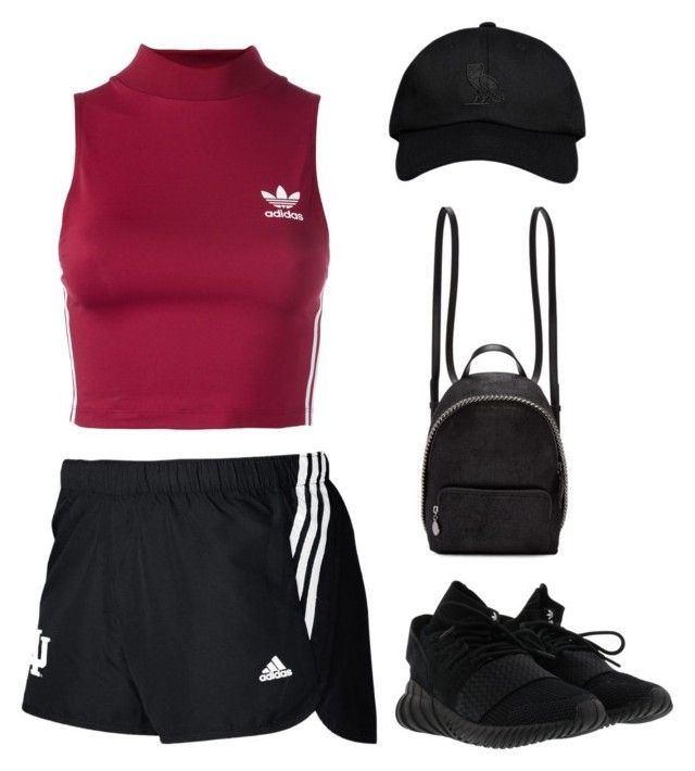 """Sans titre #1908"" by frenchystyle ❤ liked on Polyvore featuring adidas, adidas Originals, October's Very Own and STELLA McCARTNEY"