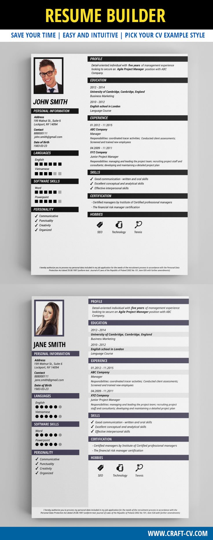 Resume Example   Professional Resume Template #resume #resumeexamples # Freeresume