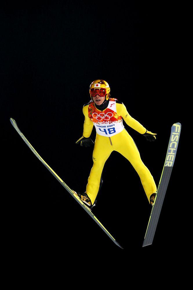 Noriaki Kasai ソチオリンピック・ジャンプ男子個人ノーマルヒル決勝