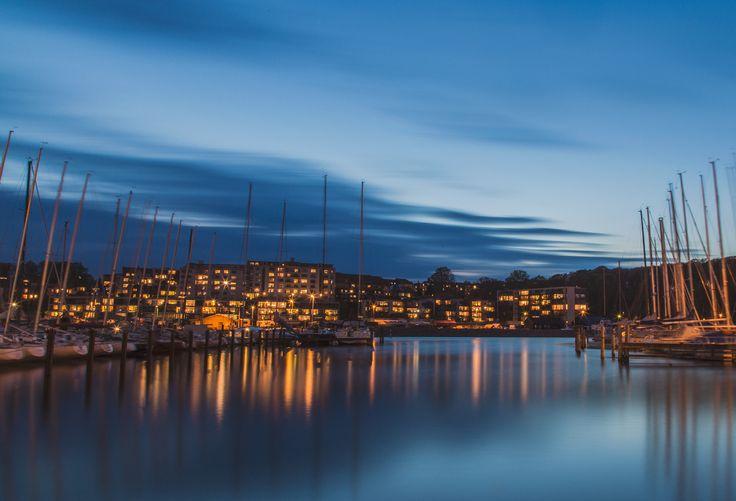Photo Blue Marina par Kasper L on 500px