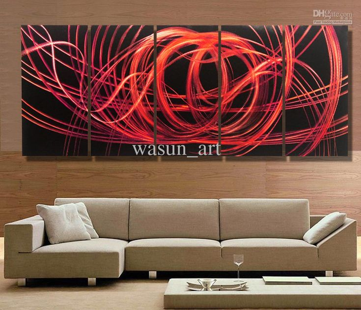 Modern Contemporary Abstract Painting,Metal Wall Art Sculpture Wall Hanging Decorations A367 From Wasun_art, $124.51 | Dhgate.Com