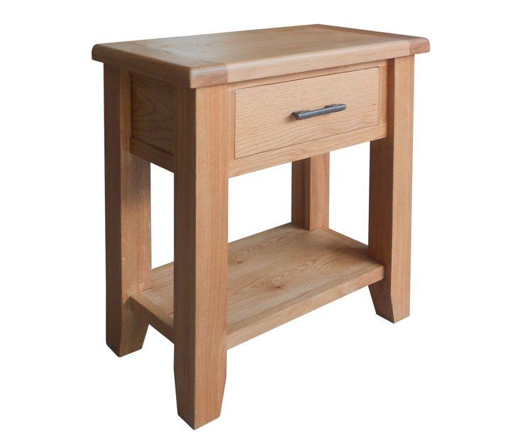 Bringy Furniture - Hastings Oak Small Console Table, £172.00 (http://www.bringyfurniture.co.uk/hastings-oak-small-console-table/)