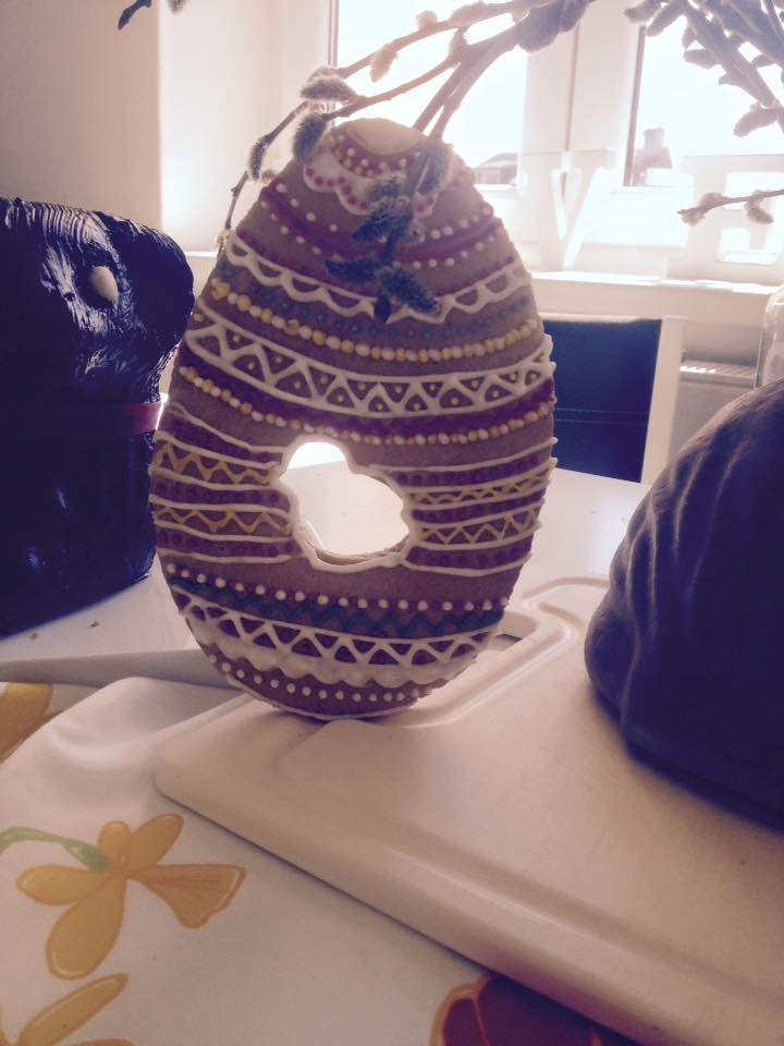 Gingerbread Easter Egg