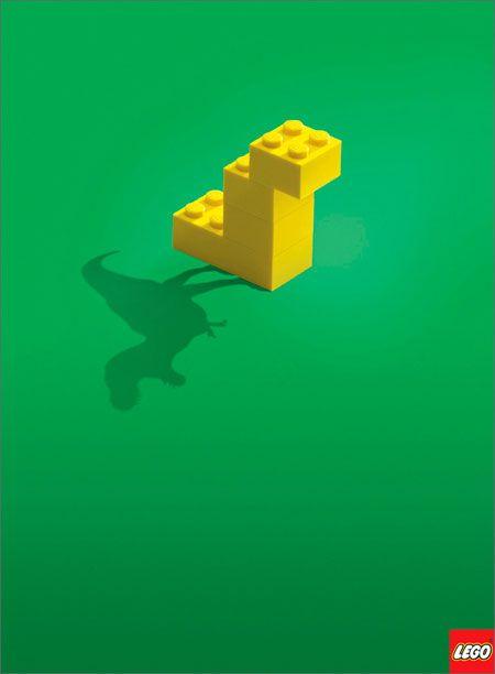La Criatura Creativa: 20 anuncios creativos minimalistas
