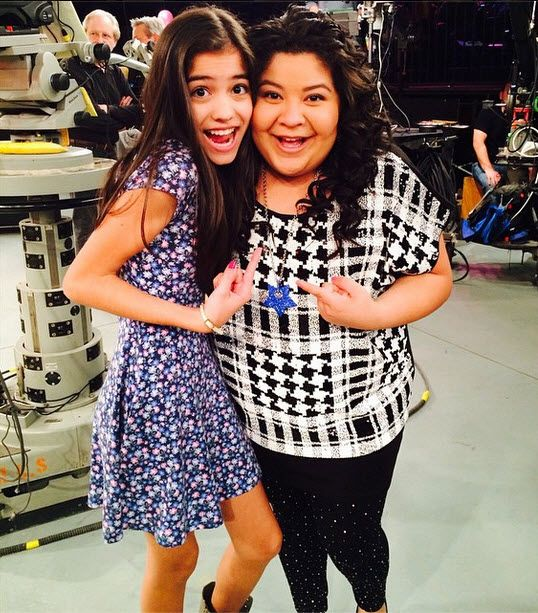 Photo: Raini Rodriguez Happy To See Valeria De la Maza November 7, 2014