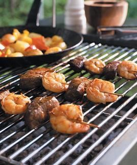 Rezept: Surf & Turf-Spiesse - [LIVING AT HOME]
