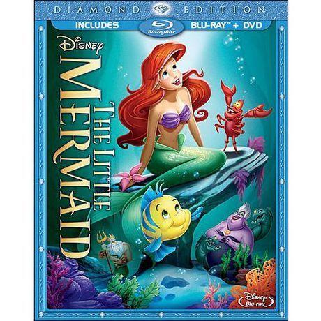 The Little Mermaid (Diamond Edition) (Bluray + DVD
