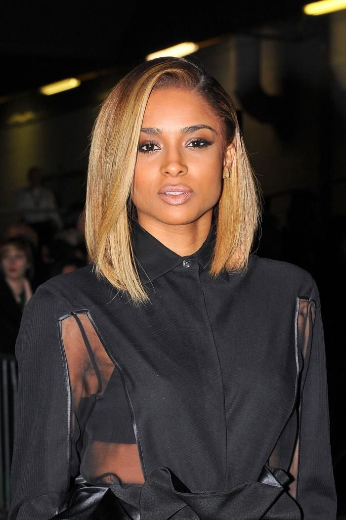 Best Straight Hairstyles for Black Women   Hairstyles 2015 / 2016, Hair Colors and Haircuts