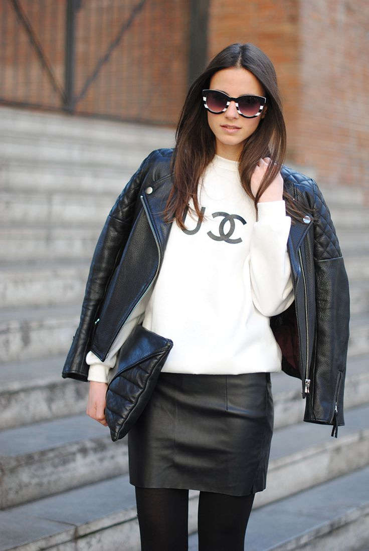 Shoes/Zapatos: Suiteblanco, Skirt/Falda: Zara (Similar), Clutch: Friis & Company, Jacket/Cazadora: H (Similar), Jumper/Jersey: Sheinside