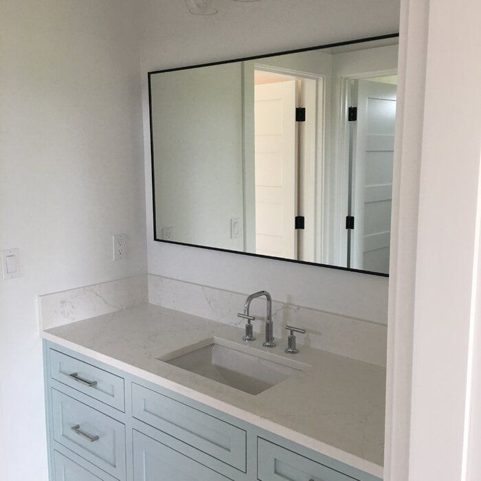 Latitude Run Tinney Modern Contemporary Bathroom Vanity Mirror