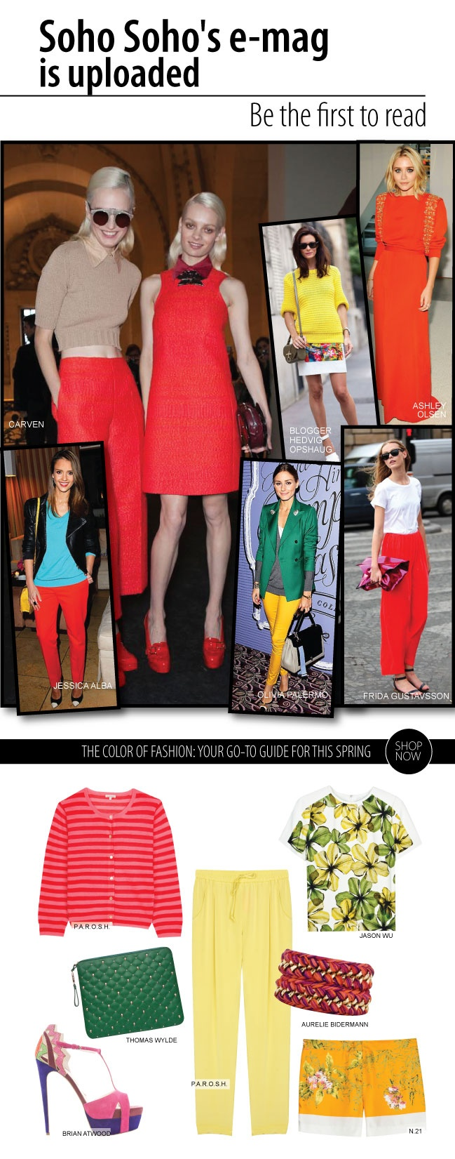 In Style with Color Book http://www.sohosoho.gr/en/magazine/editorial/january_2013/