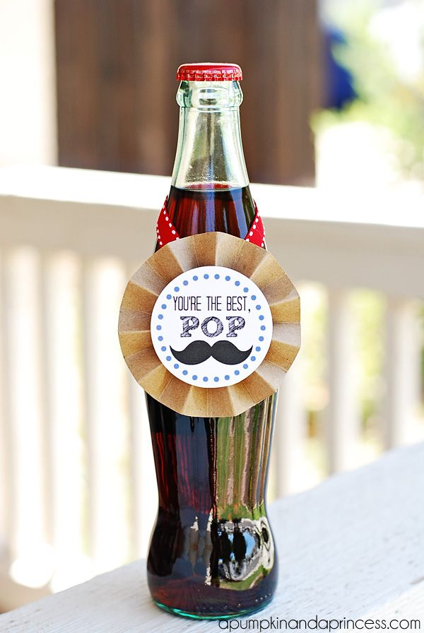You're the best, POP Soda Printable + 10 more great Father's Day gift