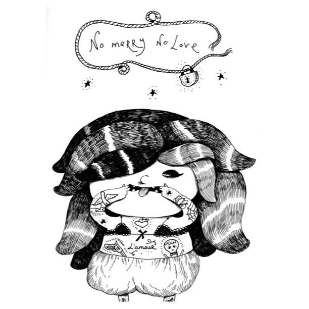 Безумный, безумный, но очень хороший день! Даже не было времени как следует насладиться картинкой, но вот я выдохнула и показываю ее вам! Удивительная, чудесная и крайне пиздатая девочка скоро на фирменных майках Мерри! Автор рисунка гениальный Дима Гапчинский из Киева, у которого, кстати, 6 марта выставка в Москве. Я в восторге от нее, я ее люблю! No Merry No Love! Дима, спасибо!!!!! Майки скоро на merrygoround.ru ну правда же она нереальная?) а татуировки, а зубы, а язык?! - @bloodymerry…