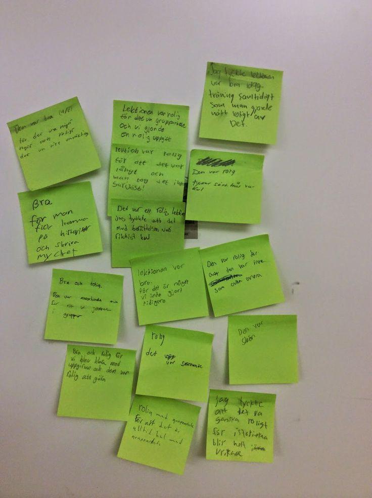 Jenny på Wendes: Verktyg för att få snabb överblick