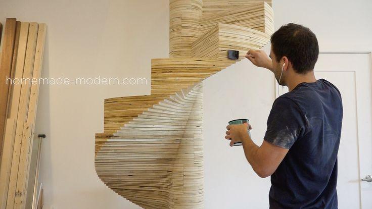 Best Homemade Modern Diy Ep99 Diy Cnc Spiral Staircase Spiral 640 x 480