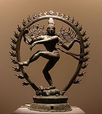Sivá Naṭarāja, dinastía Chola, Tamil Nadu, siglo XI.