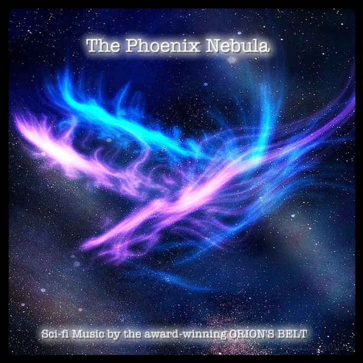 "ORION'S BELT bring you their latest offering for 2012, ""The Phoenix Nebula"", a collection of sci-fi music inspired by such TV shows as Doctor Who, Sanctuary, Warehouse 13, Haven, Fringe, Touch etc."