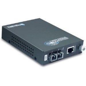 TRENDnet TFC-1000S20 Intelligent 1000Base-T to 1000Base-FX Single-mode Fiber Converter