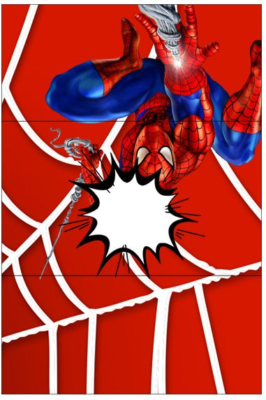 Bala Personalizada Homem Aranha: