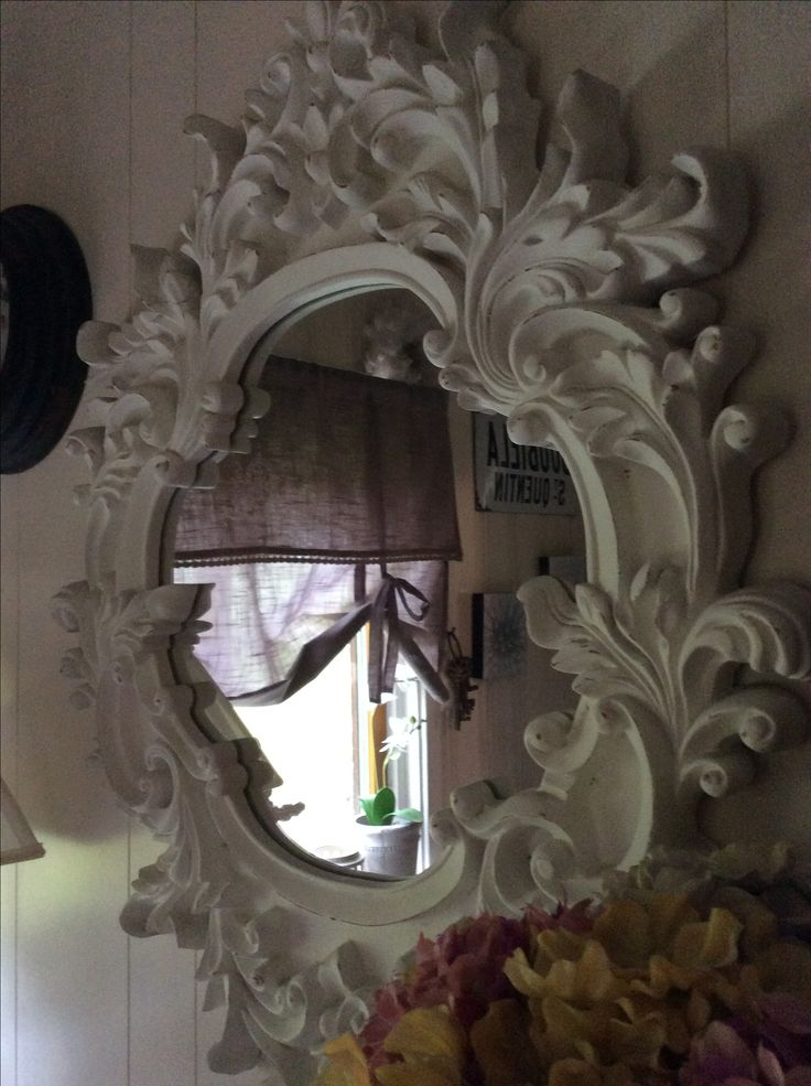 Mirror with a beautiful frame