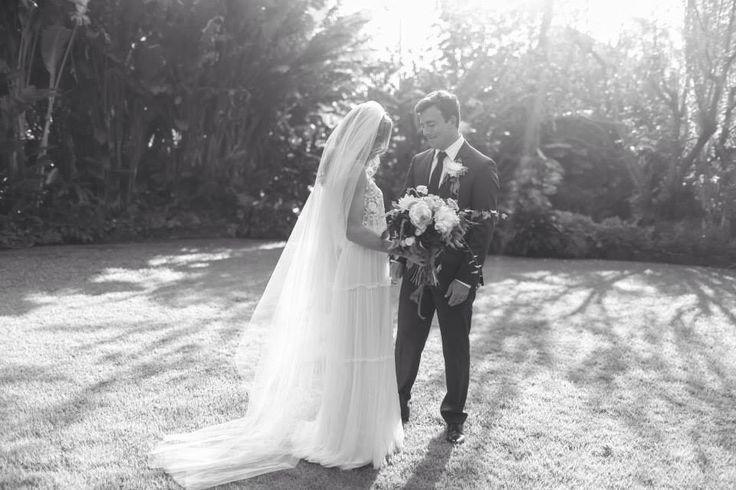 Mira Zwillinger Roxie Dress Hawaii Wedding