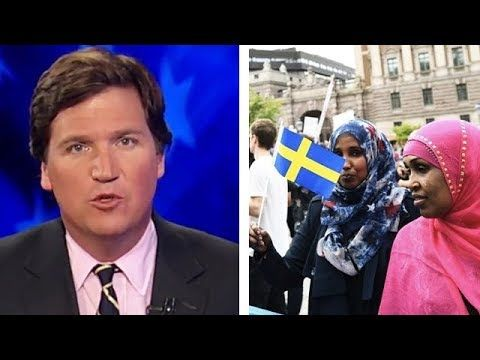"""""""Sweden Is OUT Of CONTROL"""" - Tucker Carlson REACTS To Situation In Sweden - YouTube"""