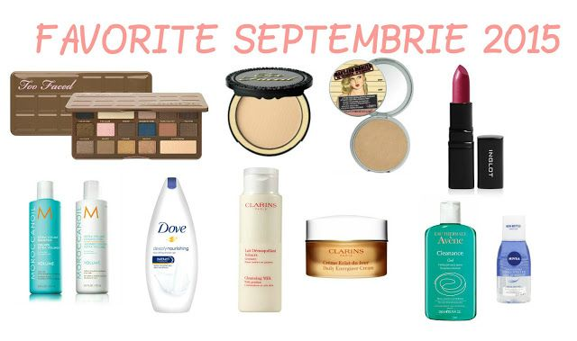 Color Me with Beauty: Favoritele lunii septembrie (2015)