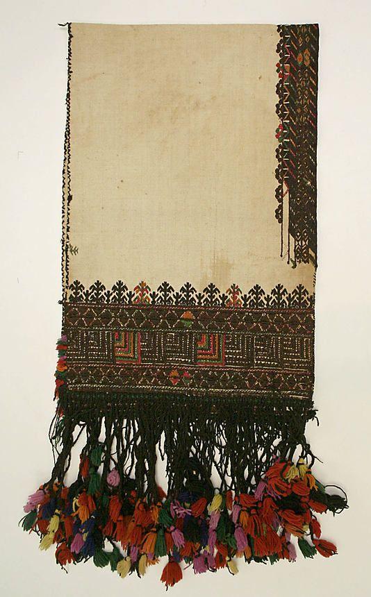Greek Scarf 1800