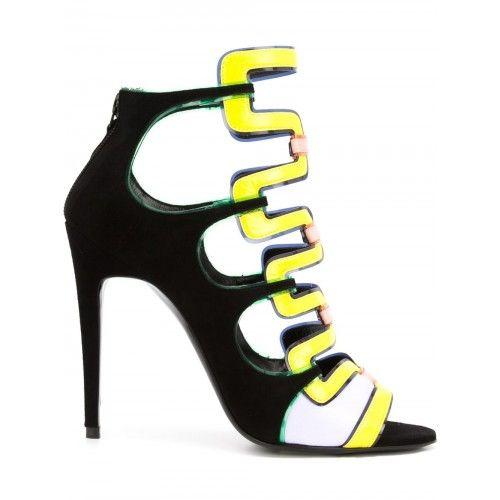 PIERRE HARDY 'Kaliste' sandals. #pierrehardy #shoes #