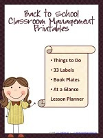 FREE Back to School Classroom Management Printables!!!