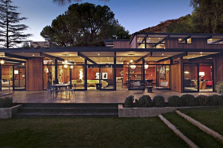 La Cañada Mid-Century by Jamie Bush & Co., oh, yum!