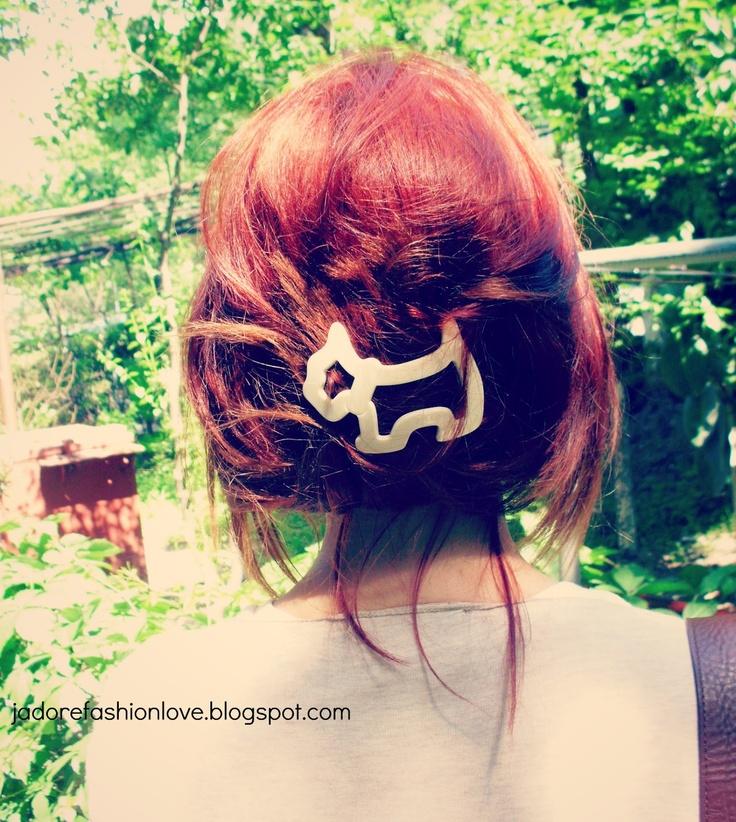 I ♥ Agatha Paris Hair Clips.
