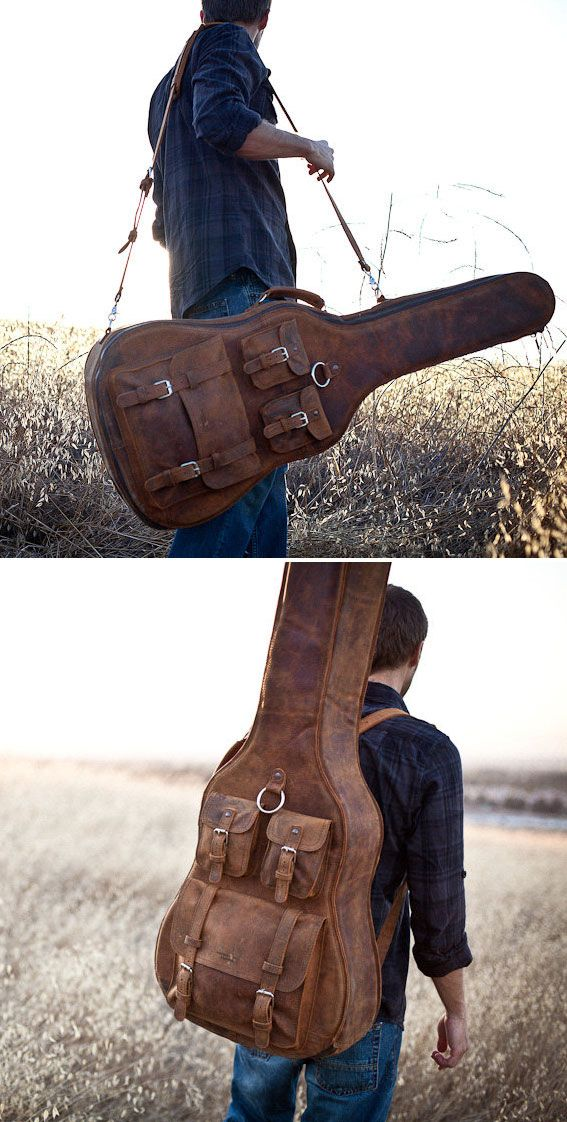 Awesome case!  Sadly, my guitar just sits in the corner these days. . .  :(