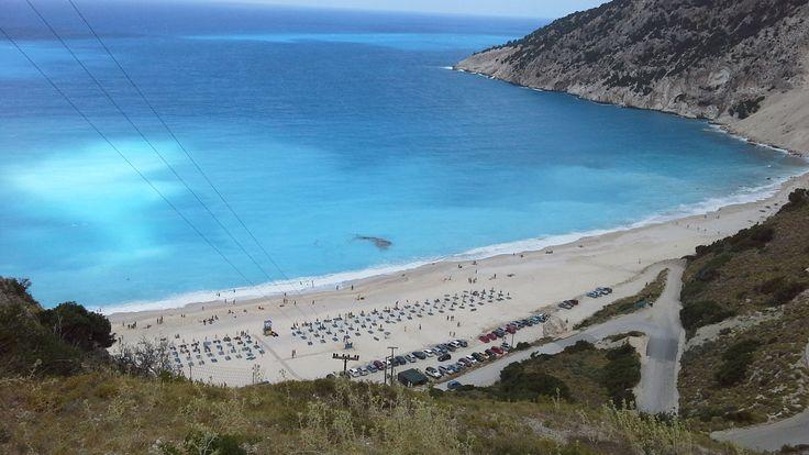 Myrtos Beach, Kefalonia #island #Ö #mediterranean #medelhavet #Greece #Grekland #Europe #Europa #Myrtos #Beach #MyrtosBeach #strand #Kefalonia #Sol #Vacation #Semester #Travel
