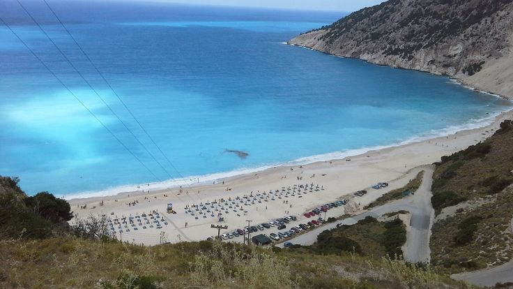Kefalonia - Myrtos Beach #Greece #Grekland #Island #Mediterranean #Ö #Medelhavet #Paradis #Paradise #Vacation #Travel #Semester #Resa #Resmål #Sol #Bad #Kefalonia #Beach #Strand
