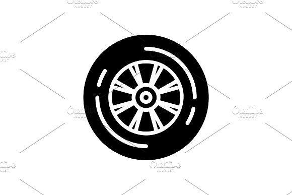Wheel Tyre Icon Tire Icon Icon Tire