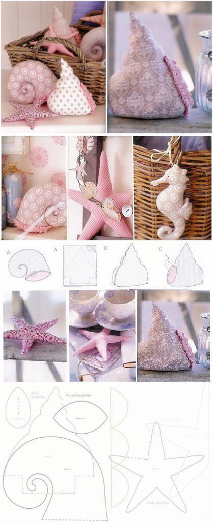 conchas Textil / Decoración, Costura /
