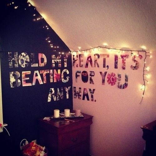 Tumblr Bedroom Wall Ideas