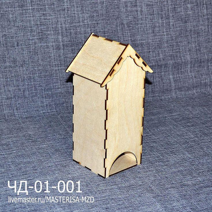 Купить ЧД-01-001. Чайный домик без окон - чайный домик декупаж